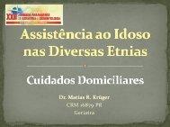 Assistência ao Idoso nas Diversas Etnias - Cuidados Domiciliares