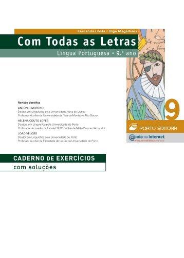 Caderno de Exercícios
