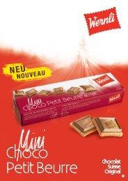 Choco Petit Beurre – l'original de Wernli