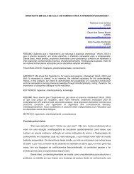 Hipertexto em sala de aula - Hipertextus Revista Digital