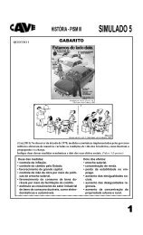 história - pism iii simulado 5 - Cave