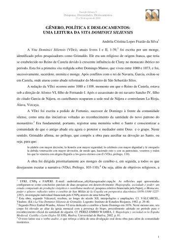 Andréia Cristina Lopes Frazão da Silva - Fazendo Gênero 10