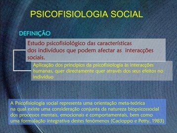 Psicofisiologia social