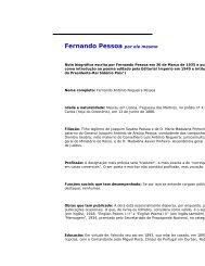 Fernando Pessoa por ele mesmo