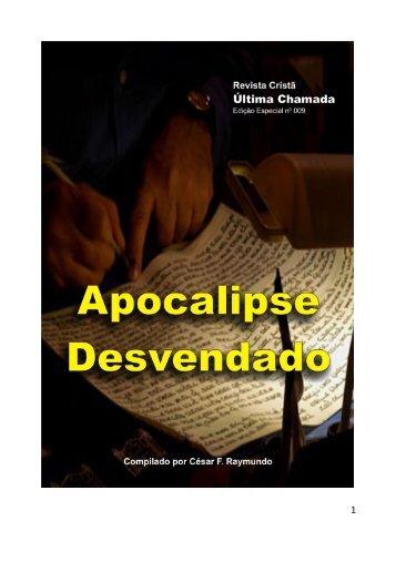 Apocalipse Desvendado - Revista Cristã Última Chamada.