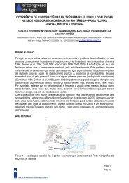 ocorrência de cianobactérias em três praias fluviais ... - APRH