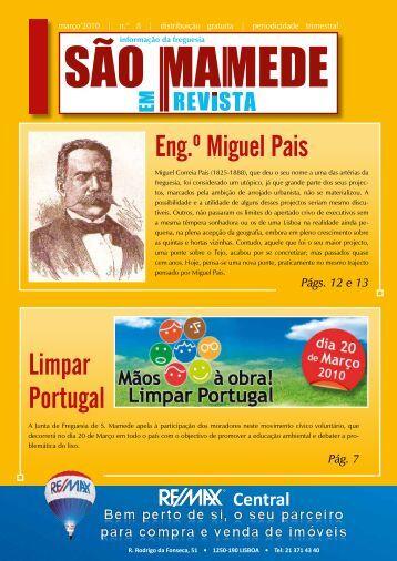 Eng.º Miguel Pais Limpar Portugal - Junta de Freguesia de São ...
