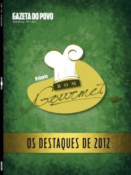 OS DESTAQUES DE 2012 - Gazeta do Povo