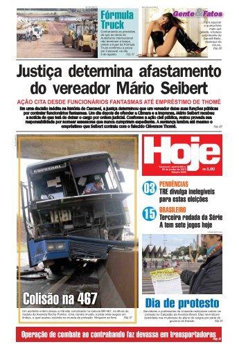 Justiça determina afastamento do vereador Mário ... - Jornal Hoje