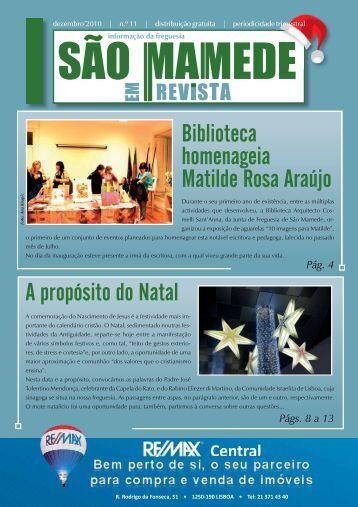 São Mamede em Revista nº 11 - Junta de Freguesia de São Mamede