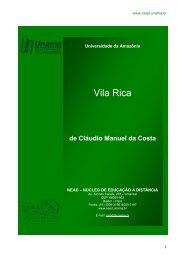 Vila Rica - Unama
