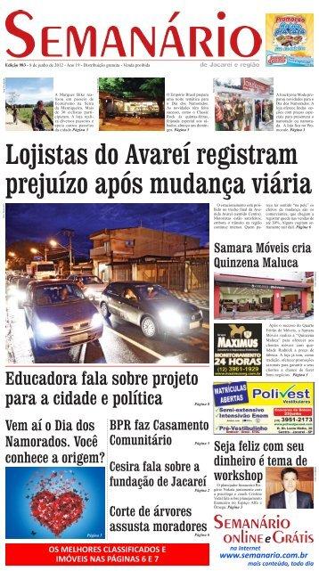 Edição 983, de 8 de junho de 2012 - Semanário de Jacareí