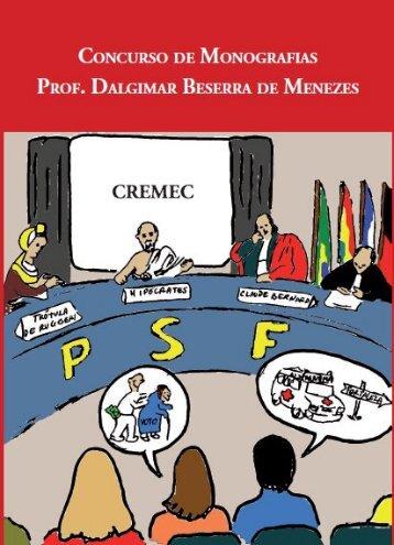 concurso de monografias prof. dalgimar beserra de ... - CREMEC