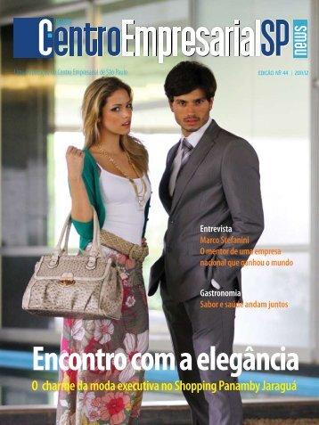 Encontro com a elegância - Centro Empresarial de São Paulo