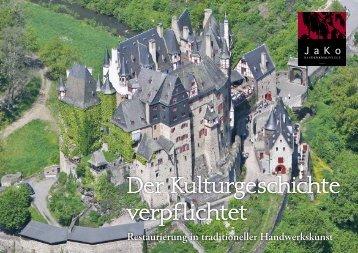 Restaurierung - Jako Baudenkmalpflege GmbH