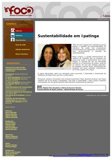 Sustentabilidade em Ipatinga