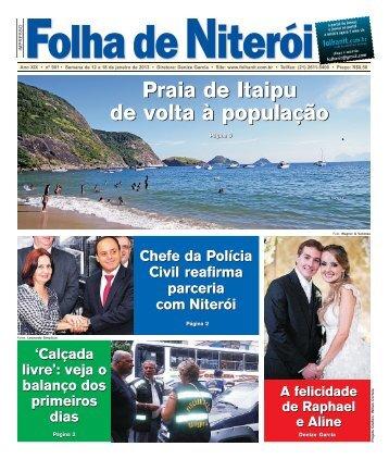 Edição 901 clique e faça o download - Folha de Niterói
