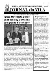 Igreja Metodista perde João Wesley Dornellas, seu grande historiador