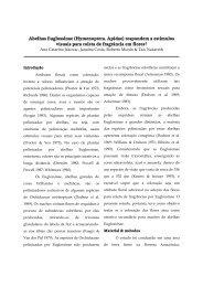 Abelhas Euglossinae (Hymenoptera, Apidae ... - PDBFF - Inpa
