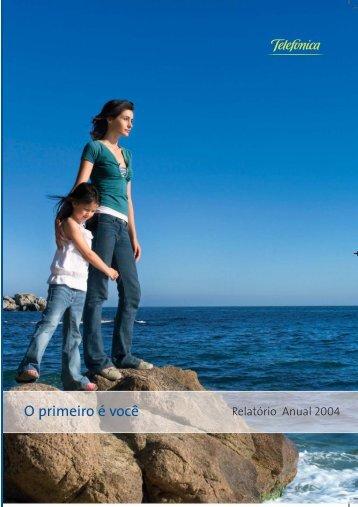 Relatório Anual 2004 - Telefonica