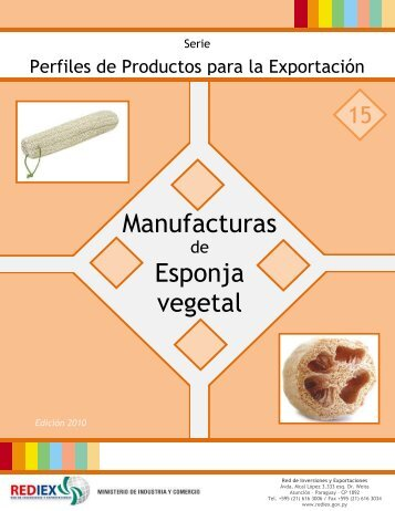Manufacturas Esponja vegetal - Rediex