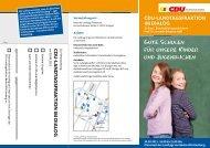 Flyer zum Bildungskongress als PDF - Karl Zimmermann MdL