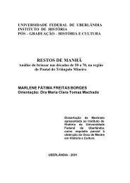 UNIVERSIDADE FEDERAL DE UBERLÂNDIA - Coordenação de ...