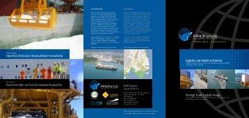 Foreign Trade Logistic Group Logística em Comércio ... - Pronave