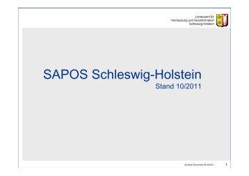 SAPOS Schleswig-Holstein - Zimmermann-Optik