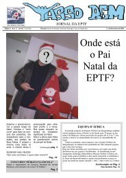 Onde está o Pai Natal da EPTF? - Sapo