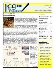 Contenido: - Licenciatura en Ciencias Genómicas - UNAM