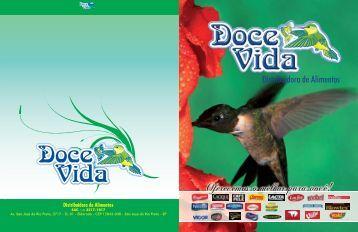 Catálogo de Produtos em PDF. - Doce Vida Distribuidora