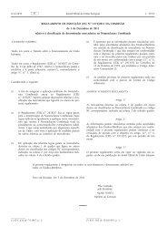Regulamento de Execução (UE) n.o 1272/2011 ... - Pauta Aduaneira