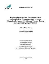 Evaluación de Aceites Esenciales Salvia ... - EARTH University