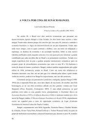 A VOLTA POR CIMA DE IGNÁCIO RANGEL - Bresser Pereira