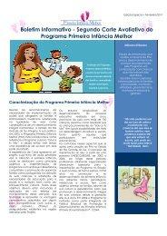 Boletim Informativo Edição Especial Segundo Corte Avaliativo do ...
