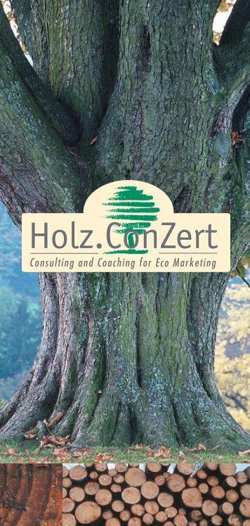 Floresta e Produtos de Madeira - Holz.ConZert