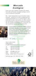 Floresta e Produtos de Madeira - Holz.ConZert - Page 6