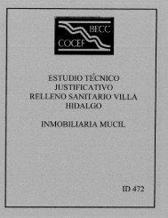 Page 1 Page 2 RELLENO SANITARIO SERVICIOS TECNICOS ...