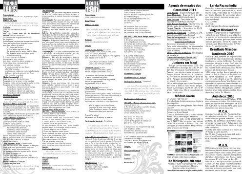 boletim 20-02-2011.pdf - Igreja Batista do Méier