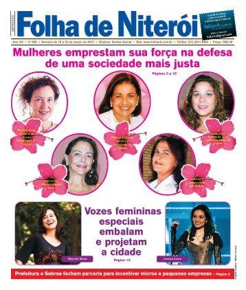 Edição 909 clique e faça o download - Folha de Niterói