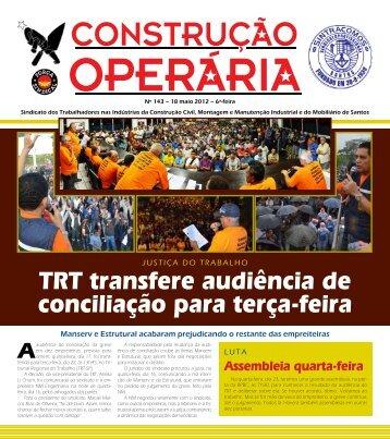 Construção Operária nr.143 - Sintracomos