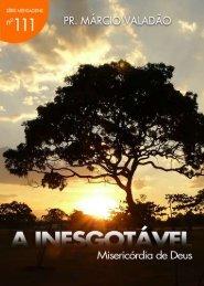 A inesgotável Misericordia de Deus - Livros evangélicos