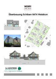 Weitere Informationen - bei Wespi Partner Architekten