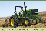 Tractores série 6025 - John Deere