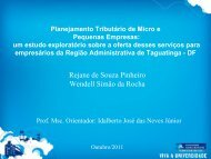 planejamento tributário de micro e pequenas empresas - CRC-DF