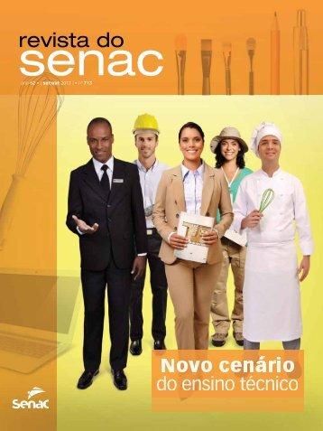 Novo cenário do ensino técnico - Senac