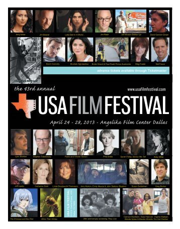 43rd.USA.Film.Fest.schedule
