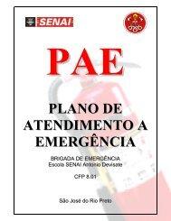 pae plano de atendimento a emergência
