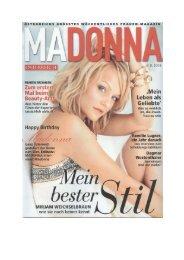 Artikel von Madonna vom August 2008 [pdf, 500KB